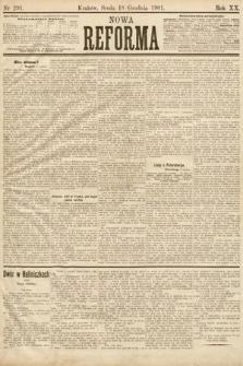 Nowa Reforma. 1901, nr291