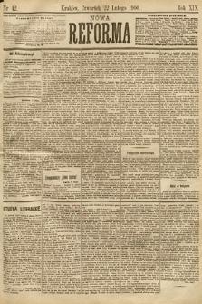 Nowa Reforma. 1900, nr42