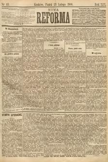 Nowa Reforma. 1900, nr43