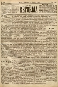 Nowa Reforma. 1900, nr45