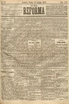 Nowa Reforma. 1900, nr47