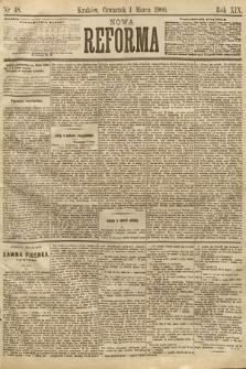 Nowa Reforma. 1900, nr48