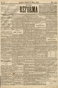 Nowa Reforma. 1900, nr74