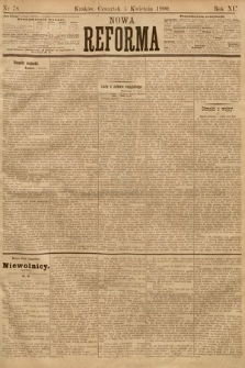 Nowa Reforma. 1900, nr78