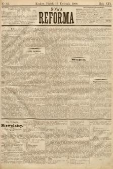 Nowa Reforma. 1900, nr85