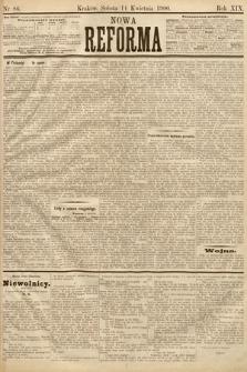 Nowa Reforma. 1900, nr86