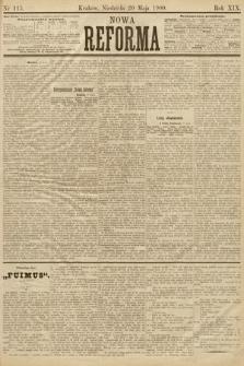 Nowa Reforma. 1900, nr115