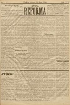 Nowa Reforma. 1900, nr119