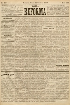 Nowa Reforma. 1900, nr138