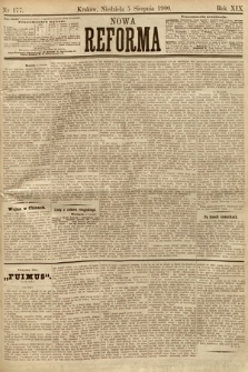 Nowa Reforma. 1900, nr177