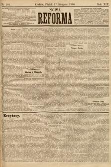 Nowa Reforma. 1900, nr186