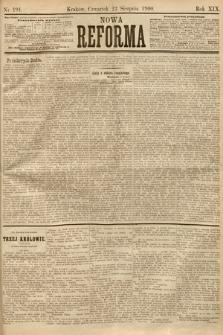 Nowa Reforma. 1900, nr191