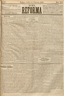 Nowa Reforma. 1900, nr207