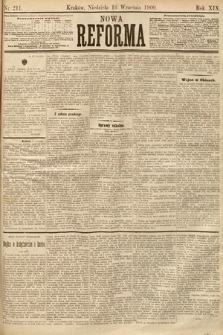 Nowa Reforma. 1900, nr211