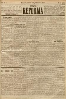 Nowa Reforma. 1900, nr213