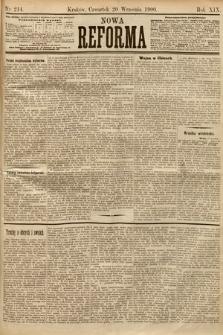 Nowa Reforma. 1900, nr214