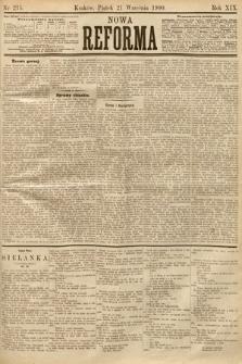 Nowa Reforma. 1900, nr215
