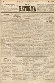 Nowa Reforma. 1900, nr216