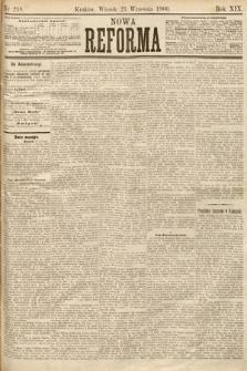 Nowa Reforma. 1900, nr218