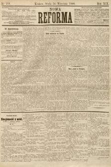 Nowa Reforma. 1900, nr219