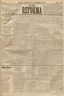 Nowa Reforma. 1900, nr229