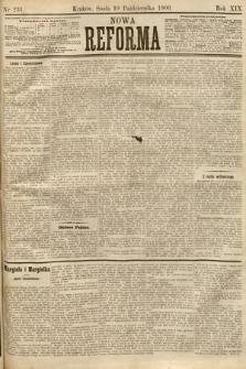 Nowa Reforma. 1900, nr231
