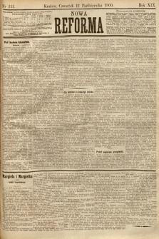 Nowa Reforma. 1900, nr232