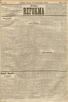 Nowa Reforma. 1900, nr233