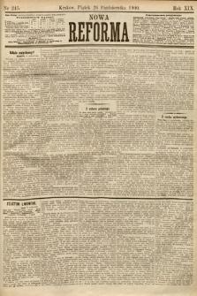 Nowa Reforma. 1900, nr245