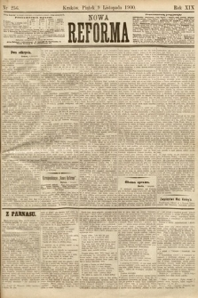 Nowa Reforma. 1900, nr256