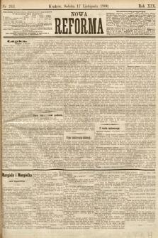 Nowa Reforma. 1900, nr263