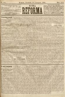 Nowa Reforma. 1900, nr264