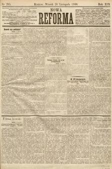 Nowa Reforma. 1900, nr265