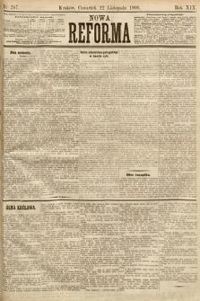 Nowa Reforma. 1900, nr267