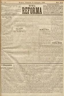 Nowa Reforma. 1900, nr270