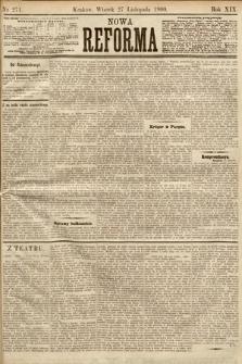 Nowa Reforma. 1900, nr271