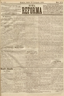 Nowa Reforma. 1900, nr272