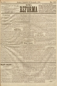 Nowa Reforma. 1900, nr273
