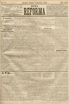 Nowa Reforma. 1900, nr275