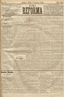 Nowa Reforma. 1900, nr278