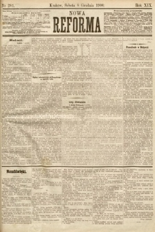 Nowa Reforma. 1900, nr281