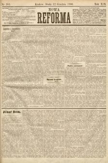 Nowa Reforma. 1900, nr283