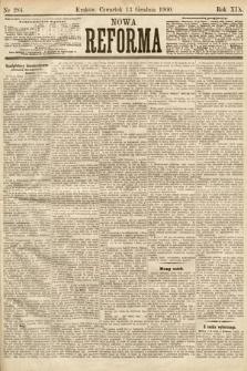 Nowa Reforma. 1900, nr284