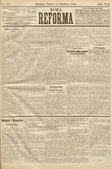 Nowa Reforma. 1900, nr285