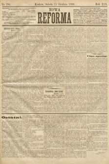 Nowa Reforma. 1900, nr286