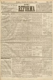 Nowa Reforma. 1900, nr287