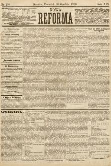 Nowa Reforma. 1900, nr290