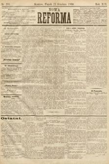 Nowa Reforma. 1900, nr291