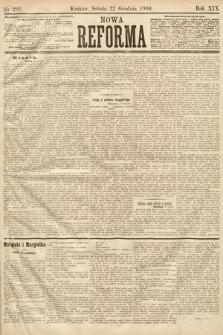 Nowa Reforma. 1900, nr292