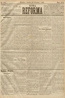 Nowa Reforma. 1900, nr296